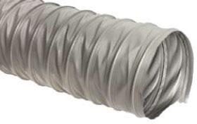 Шланг антистатический серый, длинна 5 м ,диаметр 100мм, стенка 0,3 мм.
