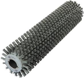 Брашировальная щетка валик Д157х635мм, ворс полимер абразив P80
