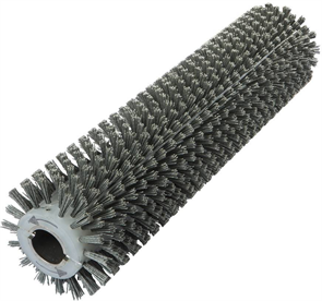 Брашировальная щетка валик 163х940мм, ворс полимер абразив P80