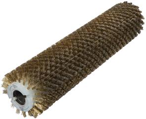 Брашировальная щетка валик 157х940мм, ворс корд сталь латунь 0,3 мм
