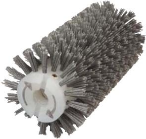 Брашировальная щетка валик 130х410мм, ворс полимер абразив P80