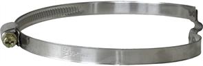 Хомут червячный с мостиком диаметр = 090-110 мм.