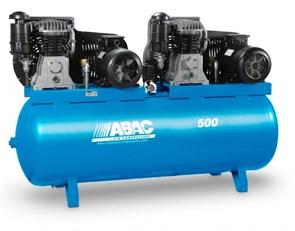 ABAC B7000/500T7,5  TANDEM  компрессор маcляный с ременным приводом