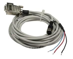 Кабель DIMETIX RS232 для EDS-C 30, 3м, М12 коннектор с 5 контактами защищ. по IP65 и коннектор D-Sub
