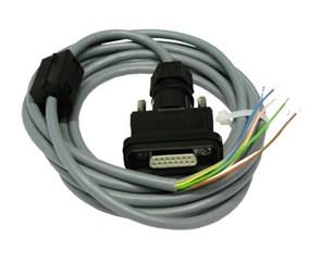 Кабель DIMETIX AO/DO 3м (аналоговый выход) с 15pin разъемом IP65