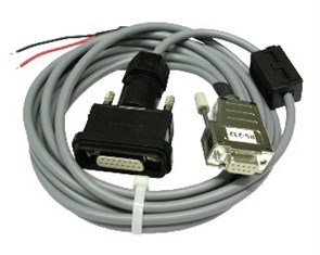 Кабель DIMETIX RS232 3м с 15pin разъемом IP65 и 9pin разъемом DIMETIX