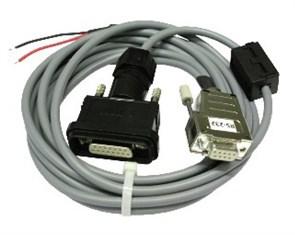 Кабель DIMETIX RS422 3м с 15pin разъемом IP65 DIMETIX