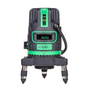 Лазерный уровень INSTRUMAX GREENLINER 2V