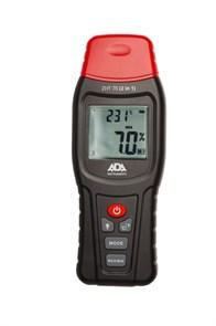 Измеритель влажности и температуры контактный ADA ZHT 70 (2 in 1) (древесина, строительные материалы, температура воздуха)