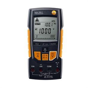 Мультиметр цифровой с функцией измерения истинного СКЗ Testo 760-3