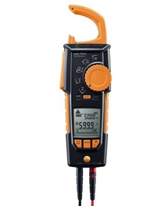 Клещи токовые с функцией измерения истинного СКЗ Testo 770-3