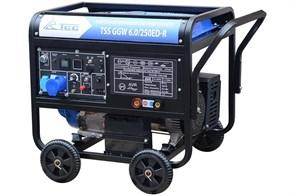 Инверторный бензиновый сварочный генератор TSS GGW 6.0/250ED-R