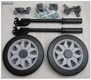 Комплект ручек и колес для бензиновых генераторов от 5 до 7 кВт