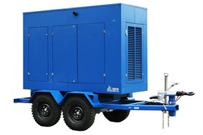 Дизель генератор на прицепе 300 кВт ТСС ЭД-300-Т400-1РКМ5