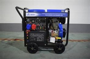 Инверторный дизельный сварочный генератор TSS DGW 6.0/200ED-R3