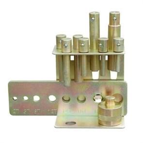 Комплект пуансонов с перфорированной пластиной Holzmann DDS25
