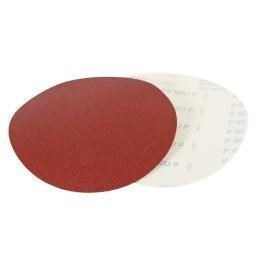 Комплект тарельчатых шлифовальных кругов с липучкой 1шт. зерно 60 3 шт. зерно 80 3 шт. зерно 100 3 шт. зерно 120 Holzmann STK230SET