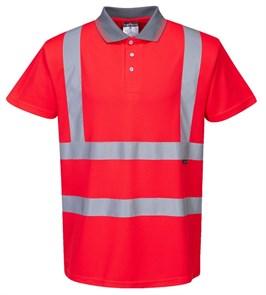 Светоотражающая футболка Portwest S477 красный