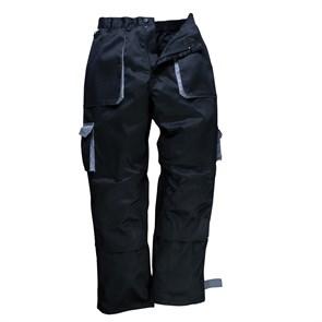 Рабочие брюки Portwest TX11, Чёрный / серый