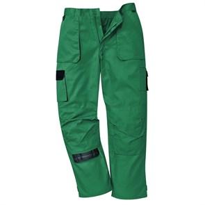 Рабочие брюки Portwest TX11, Зелёный