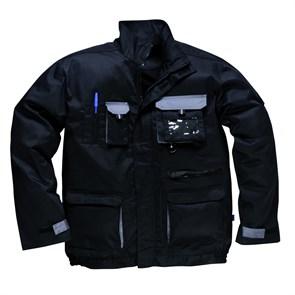 Рабочая куртка Portwest TX10, Чёрный / серый