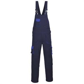 Рабочий полукомбинезон Portwest TX12, Тёмно-синий / синий
