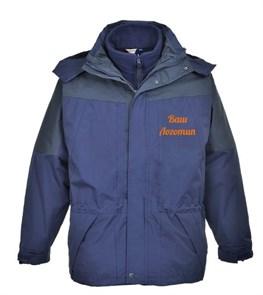 Водостойкая куртка Portwest S570 3 в 1, синий