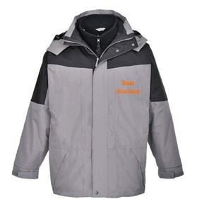 Водостойкая куртка Portwest S570 3 в 1, серый