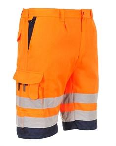 Светоотражающие шорты Portwest E043. Оранжевый
