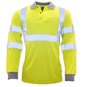 Огнезащитная антистатическая рубашка-поло Portwest FR77