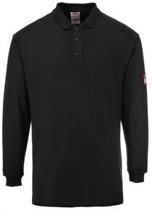 Огнезащитная антистатическая рубашка-поло Portwest FR10 Чёрный