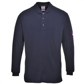 Огнезащитная антистатическая рубашка-поло Portwest FR10 Синий