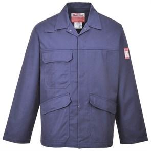 Антистатическая огнеупорная куртка Portwest FR35. Цвет синий.