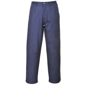 Антистатические огнеупорные брюки Portwest FR36. Цвет синий.