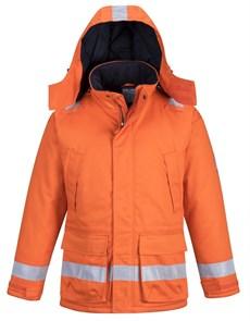 Огнеупорная антистатическая зимняя куртка Portwest FR59, Оранжевый