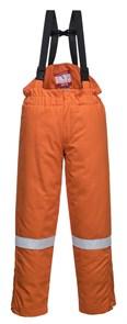 Огнеупорный антистатический зимний полукомбинезон Portwest FR58, Оранжевый