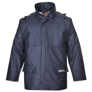 Огнеупорная антистатическая куртка-дождевик Portwest FR46. Тёмно-синий.