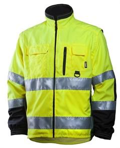 Сигнальная куртка для ИТР Dimex 684 со съемными рукавами
