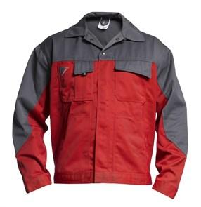 Куртка Engel Enterprise 1600-780, красный/серый