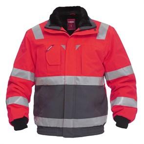 Куртка Engel Safety 1172-928, серый/красный