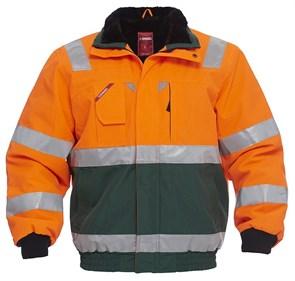 Куртка Engel Safety 1172-928, зеленый/оранжевый
