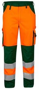 Брюки Engel Safety 2501-775,оранжевый/зеленый