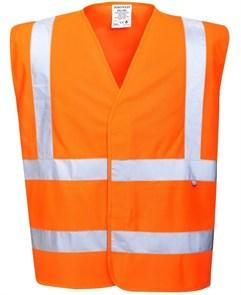 Огнеупорный сигнальный жилет Portwest FR70, Оранжевый
