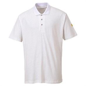Антистатическая футболка-поло Portwest AS21, белая