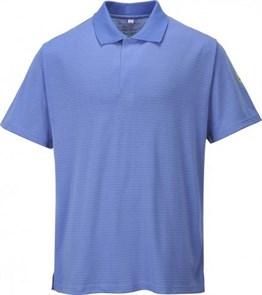 Антистатическая футболка-поло Portwest AS21, синяя