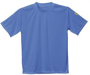 Антистатическая футболка Portwest AS20, синяя