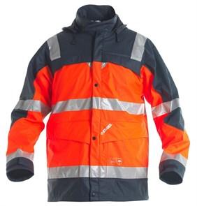Сигнальный дождевик Engel Rain Jacket 1911-102, Оранжевый/темно-синий