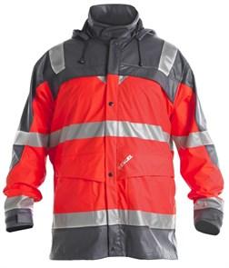 Сигнальный дождевик Engel Rain Jacket 1911-102, Красный/серый