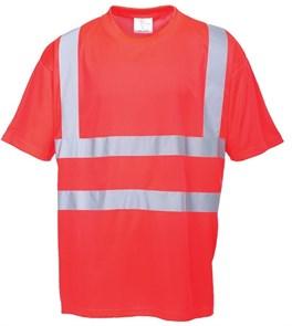 Сигнальная футболка Portwest S478, Красная