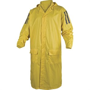 Рабочий плащ-дождевик Delta-Plus MA400, Желтый